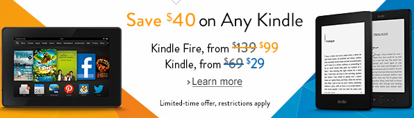 Amazon Kindle Coupon
