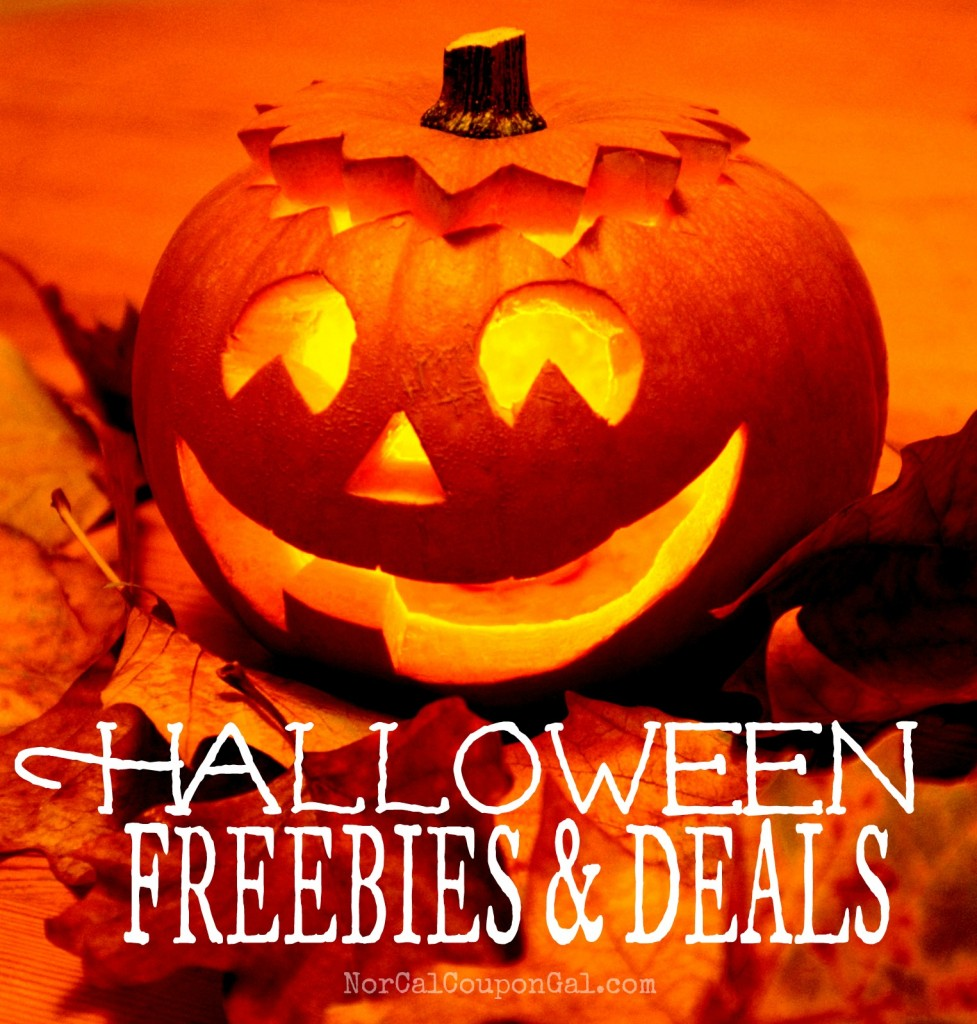 Halloween Freebies and Deals