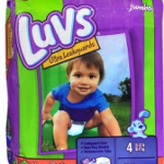 New Luvs Diapers Coupon – Jumbo Packs As Low As $4 At Safeway (Friday Only)