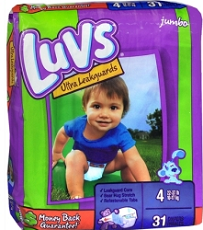 Luvs Diapers Jumbo Pack