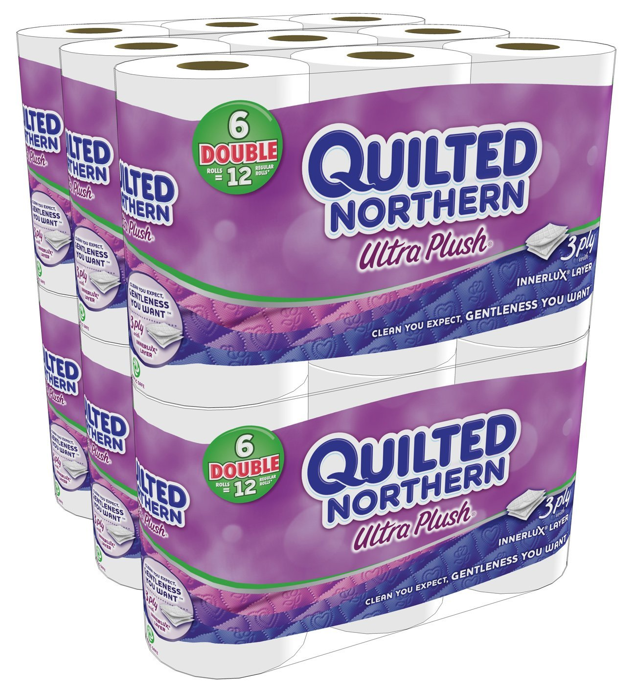 Quilted Northern Ultra Plush Bath Tissue As Low As Per Regular Roll