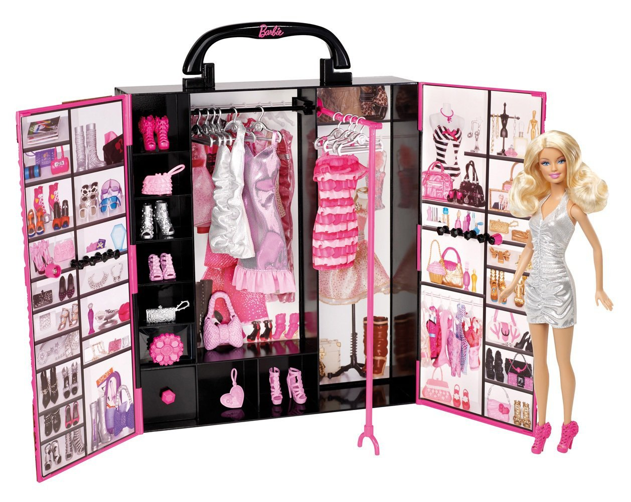 barbie fashionista ultimate closet just reg. Black Bedroom Furniture Sets. Home Design Ideas