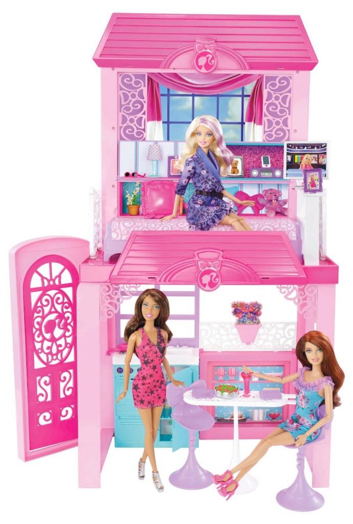 barbie glam vacation house just reg. Black Bedroom Furniture Sets. Home Design Ideas