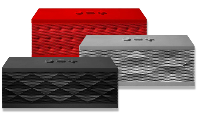 jawbone jambox wireless bluetooth speaker just  99 shipped