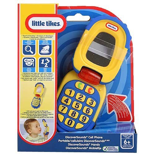 Little Tikes Discover Sounds Cell Phone Just $7.99 (Reg