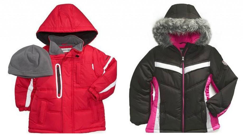 kids u0026 39  puffer jackets as low as  15 99  reg   85