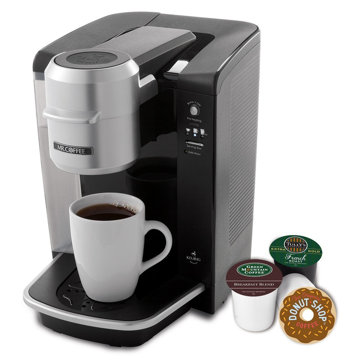 Mr. Coffee Single Serve Coffee Brewer Just USD 64.99 (Reg. USD 119.99)