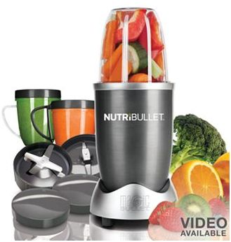 NutriBullet 12-pc. Superfood Nutrition Extractor & Blender Set As Low ...