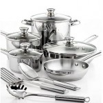 Tools of the Trade Stainless Steel 12 Piece Cookware Set Just $39.99 (Reg. $119.99)