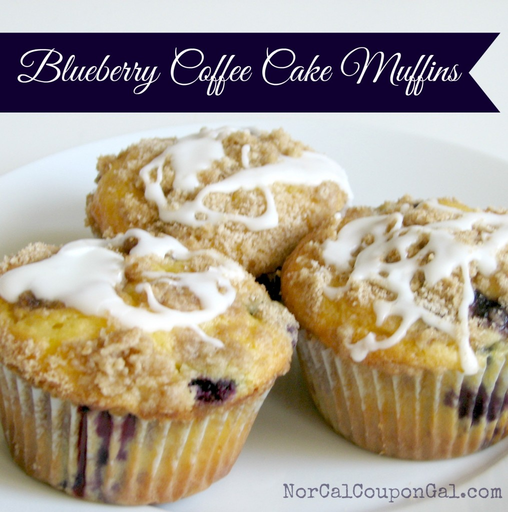 In The Kitchen With Mom Mondays – Blueberry Coffee Cake Muffins