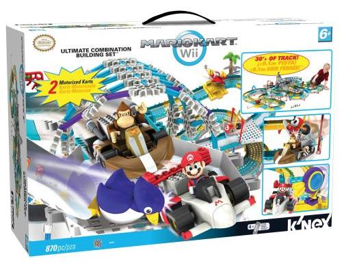 K Nex Mario Kart Wii Ultimate Combination Track Building Set Just