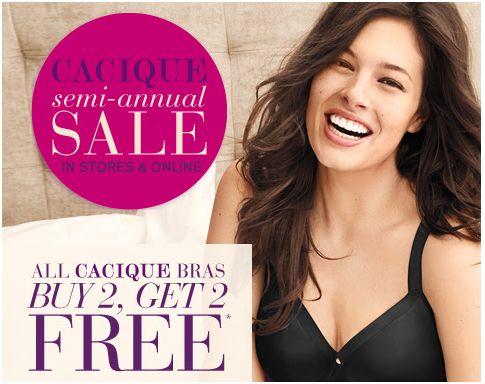 Lane Bryant Cacique Semi Annual Clearance Sale
