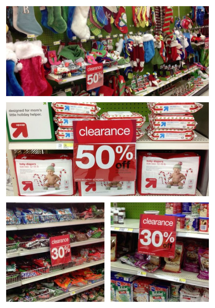 Target Christmas Clearance 2013