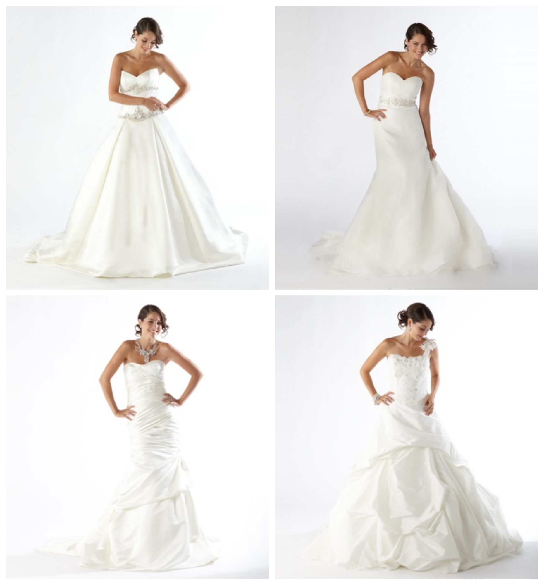 Hot kirstie kelly couture wedding gowns just 17499 reg 1350 groupon wedding dress deal junglespirit Image collections