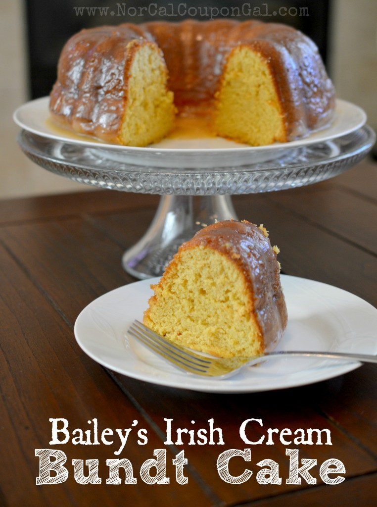 In The Kitchen With Mom Mondays – Bailey's Irish Cream Bundt Cake