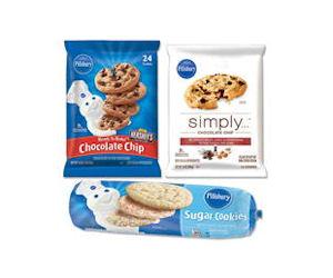 pillsbury refrigerated cookie dough