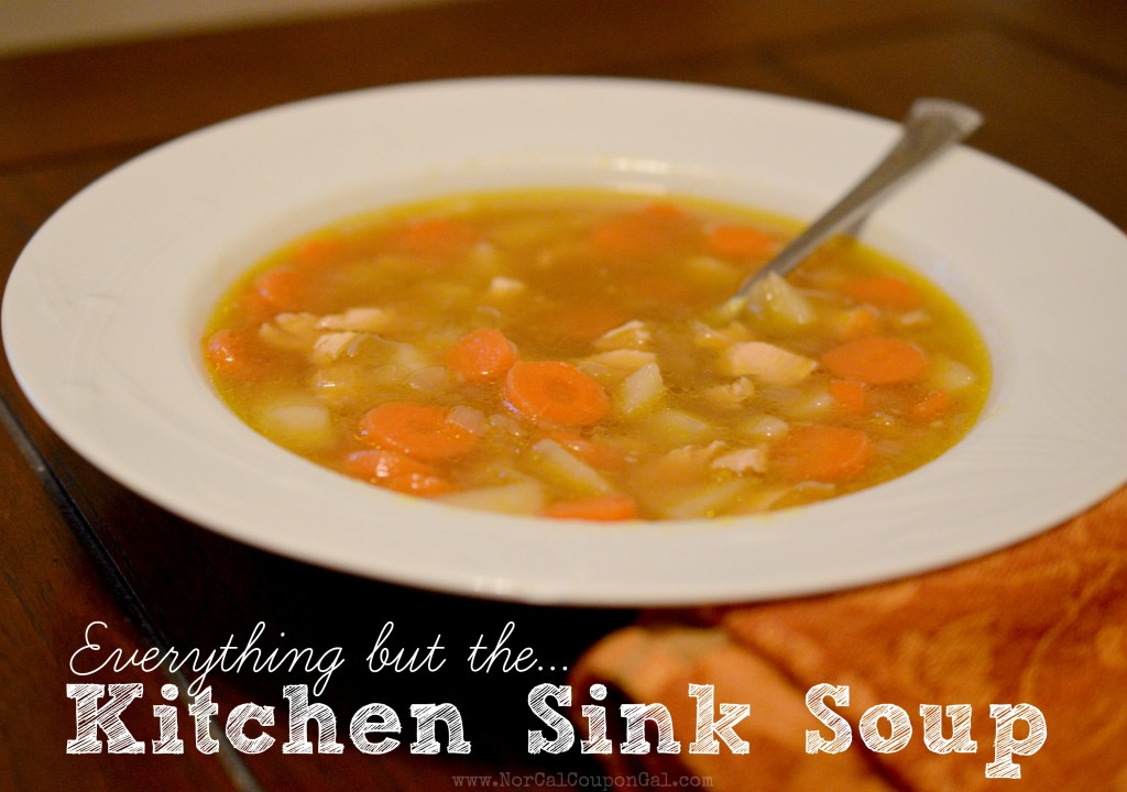 Everything But The Kitchen Sink Soup Recipe