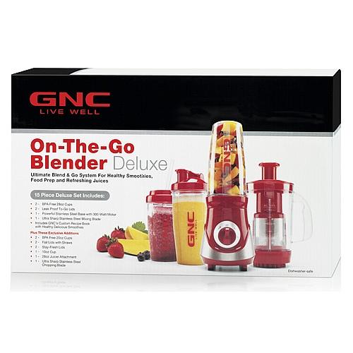 Gnc On The Go Blender Deluxe Set Just 25 99 Reg 69 99