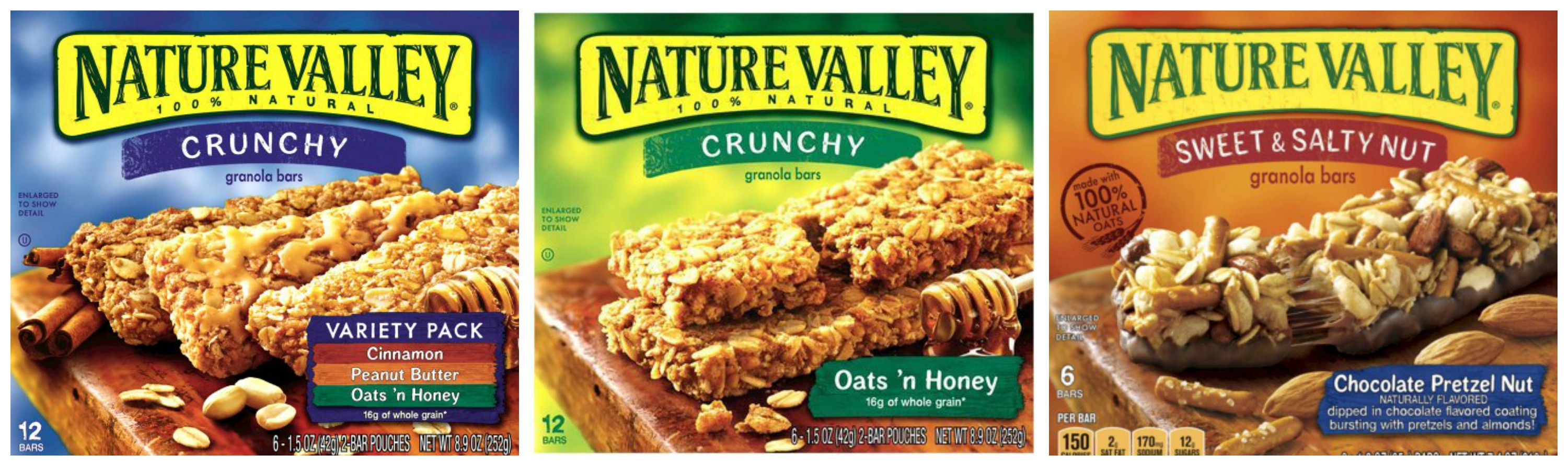 Nature Valley Chewy Trail Mix Bars Variety Pack Dark Chocolate And Nut Fruit And Nutpck.