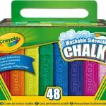 Crayola 48 Count Sidewalk Chalk