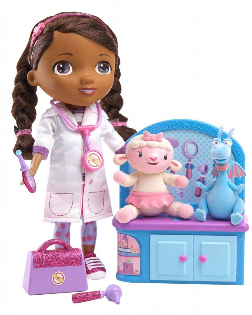 doc mcstuffins magic talkin' doc and friends just $24.99 (reg. $49.99)