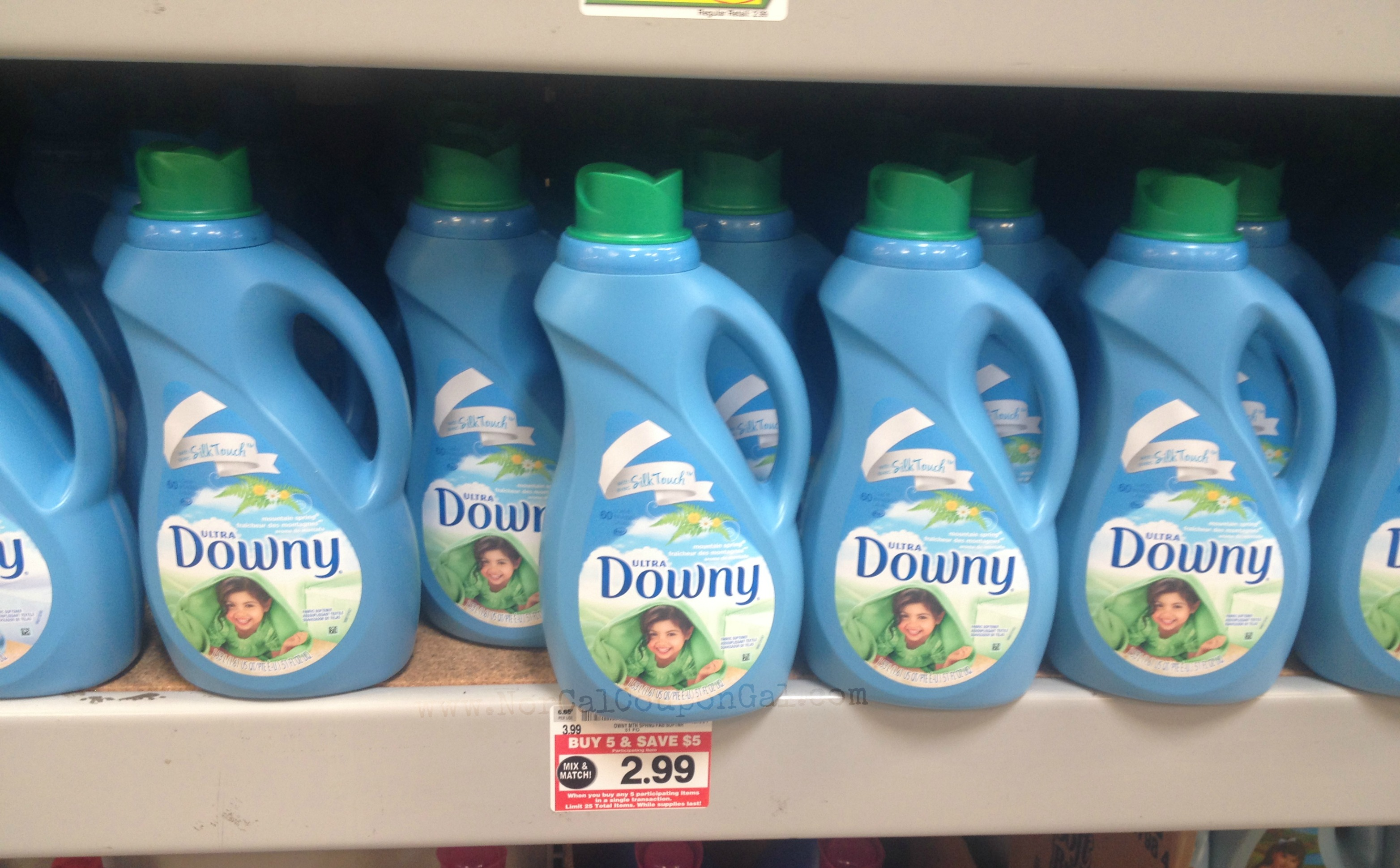 Just a reminder this week foods co has downy fabric softener on sale