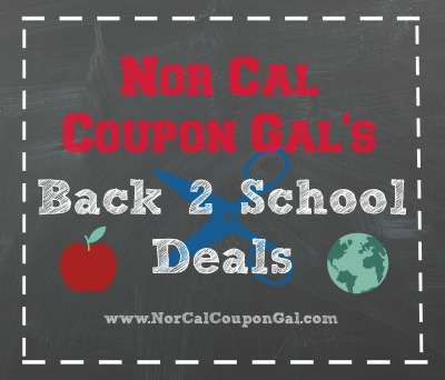 Back To School Deals and Coupon Matchups