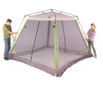 sc 1 st  NorCal Coupon Gal & Coleman Instant Canopy Screen House Just $68.11 (Reg. $119)