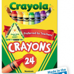 Crayola Classic Color Pack Crayons, 24 ct Just $0.50