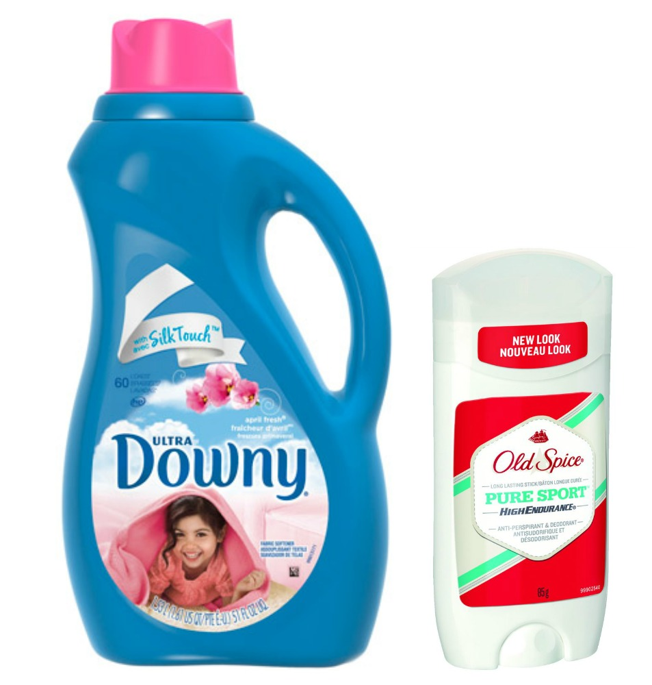 Downy & Old Spice