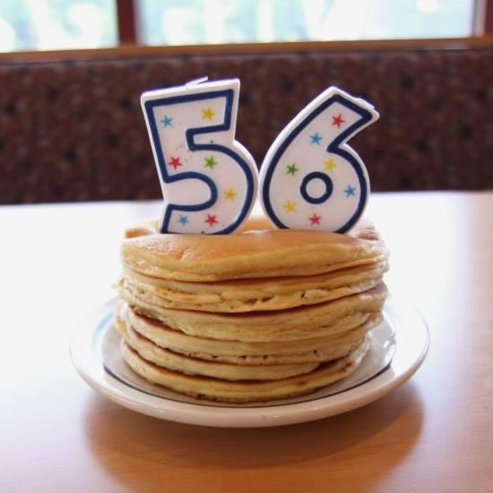 $0.56 Short Stack Pancakes