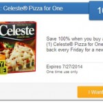 SavingStar Freebie Friday - Celeste Pizza