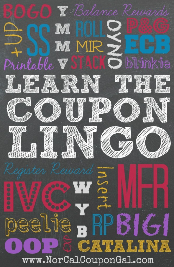 Learn The Coupon Lingo