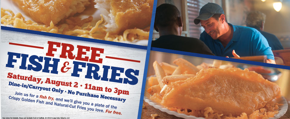 Long john silvers free fish fries no purchase needed for That fish place coupon