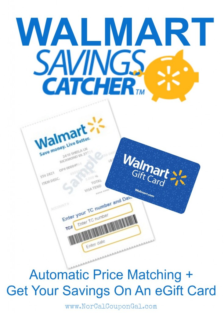 Walmart savings catcher click for details your savings dashboard