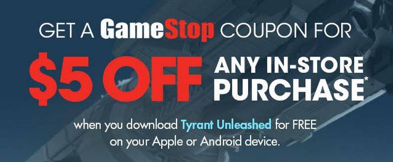 Gamestop discount coupons