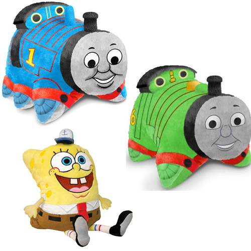 Pillow Pet Pee Wee Thomas The Train Percy Or Sponge Bob