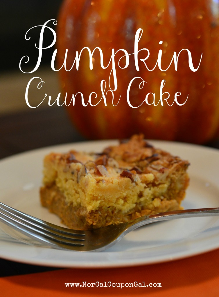 How To Make Pumpkin Crunch Cake