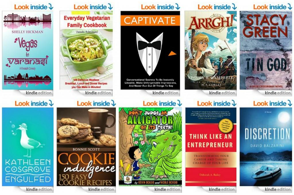 10 Free Kindle Books 10-22-14