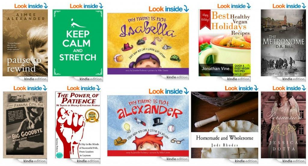 10 Free Kindle Books 10-31-14