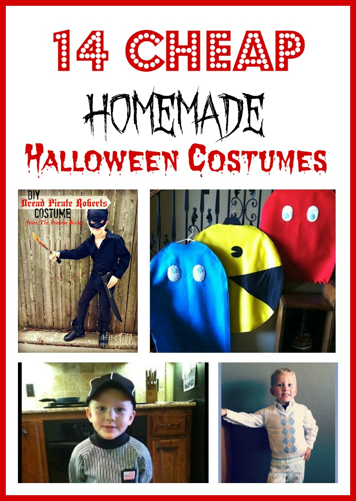 Cheap Homemade Halloween Costumes u2013 14 Budget Friendly Halloween Costume Ideas  sc 1 st  NorCal Coupon Gal & Cheap Homemade Halloween Costumes - 14 Budget Friendly Halloween ...
