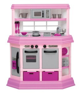 American Plastic Toys Girls Cookin Kitchen Just 33 88 Reg 59 99