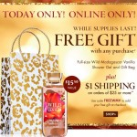 Bath & Body Works FREE Gift Bag + Full Size Shower Gel With Purchase