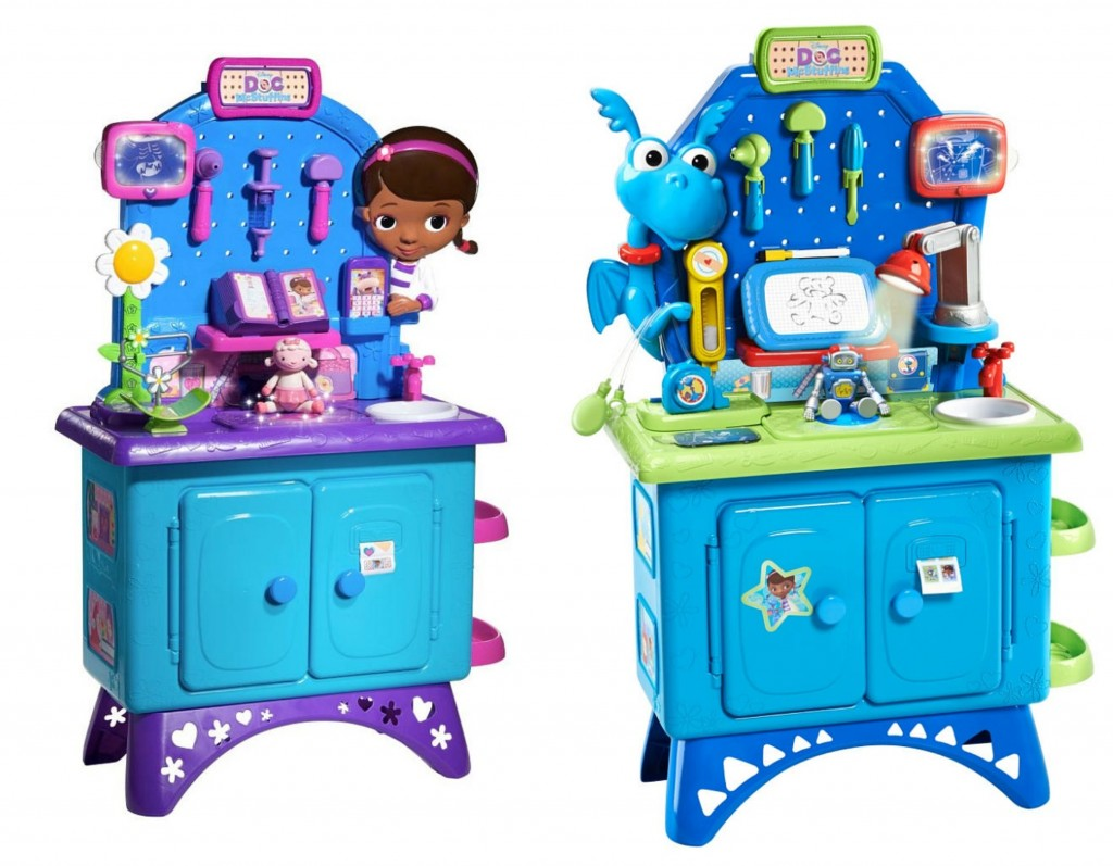 doc mcstuffins deluxe check-up center or stuffy check-up center just