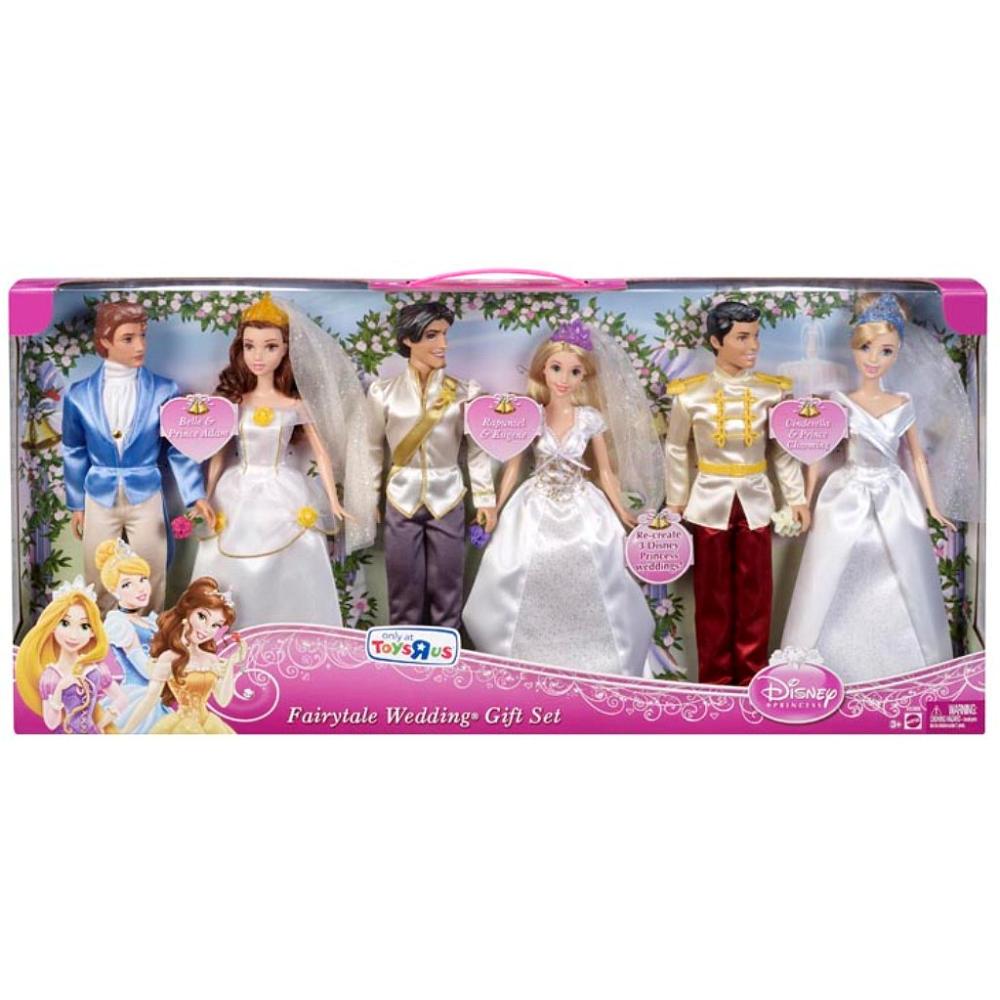 Disney Princess Fairytale Wedding Ariel and Prince Eric ... |Disney Princess Wedding Set