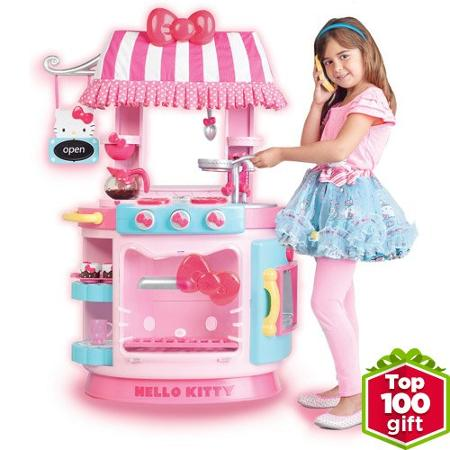 Hello kitty kitchen cafe just reg for Best kitchen set for 4 year old