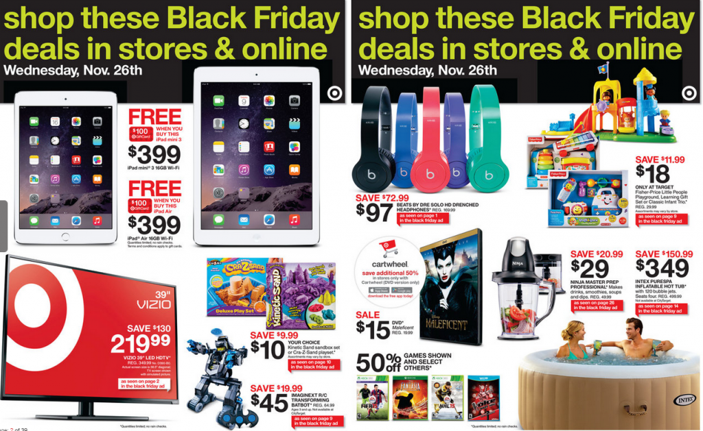 First of all, retailers are starting Black Friday deals early this year in an effort to gain visibility ahead of Thanksgiving. Second, remember that top retailers like Amazon, Walmart, and Best.