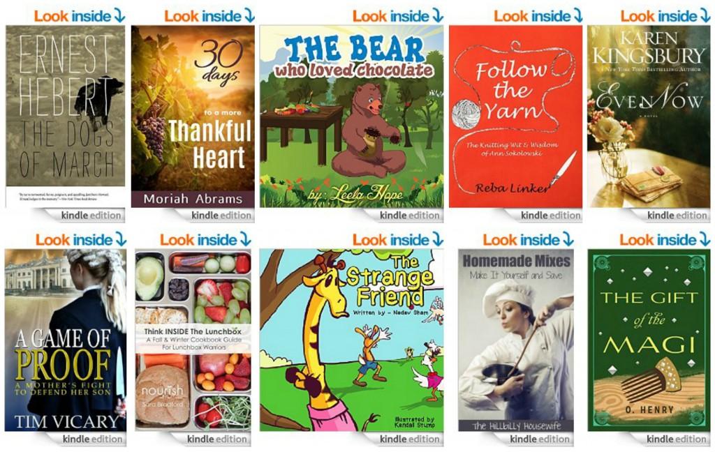 10 Free Kindle Books 12-17-14