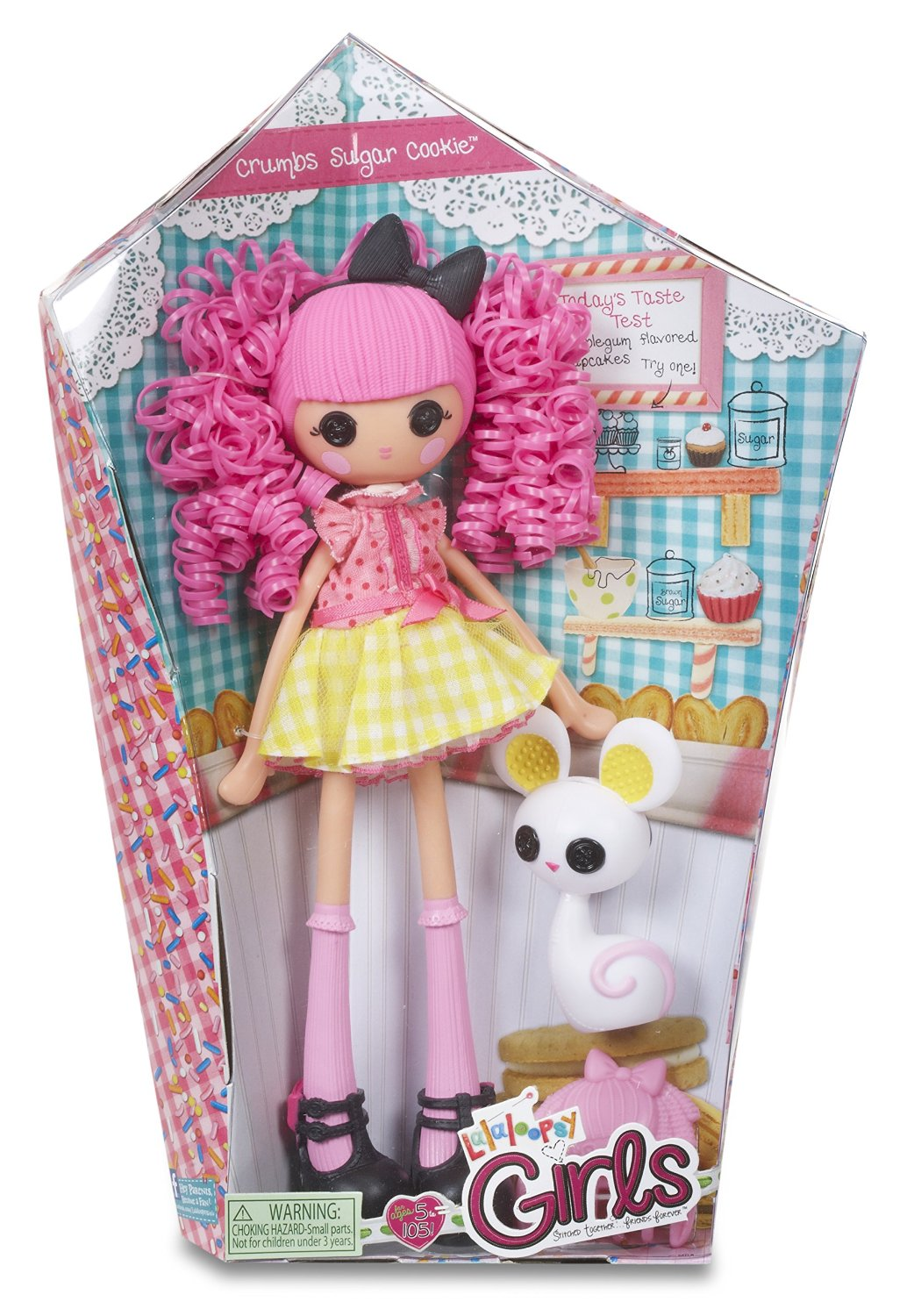 Lalaloopsy Crumbs Sugar Cookie Doll Lalaloopsy Girls Crumbs Sugar