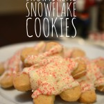 In The Kitchen With Mom Mondays – Shortbread Snowflake Cookies